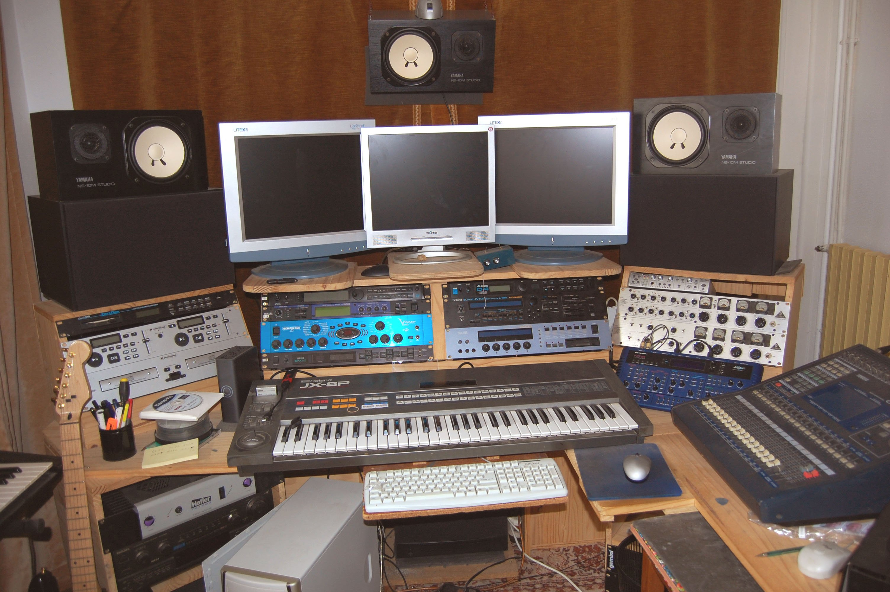 Studio d'arrangements et d'enregistrement